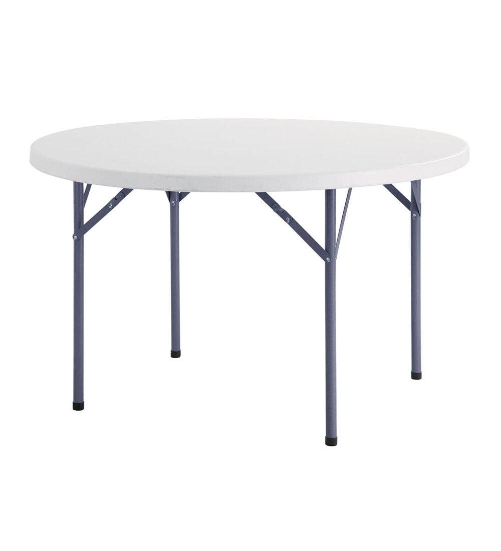 โต๊ะพับกลม พลาสติก HDPE FURRANO รุ่น TF1012
